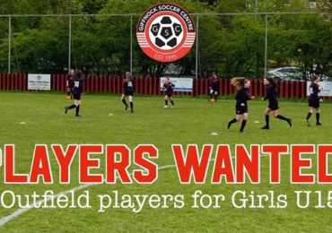 Giffnock Soccer Centre Under 15 Girls (Regional &Development) looking for players and coaches