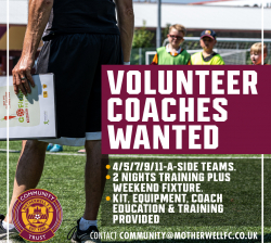 Volunteer Community Team Coaches Wanted